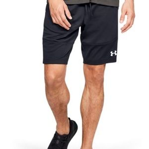 EUC Under Armour Sportstyle Pique black shorts XL